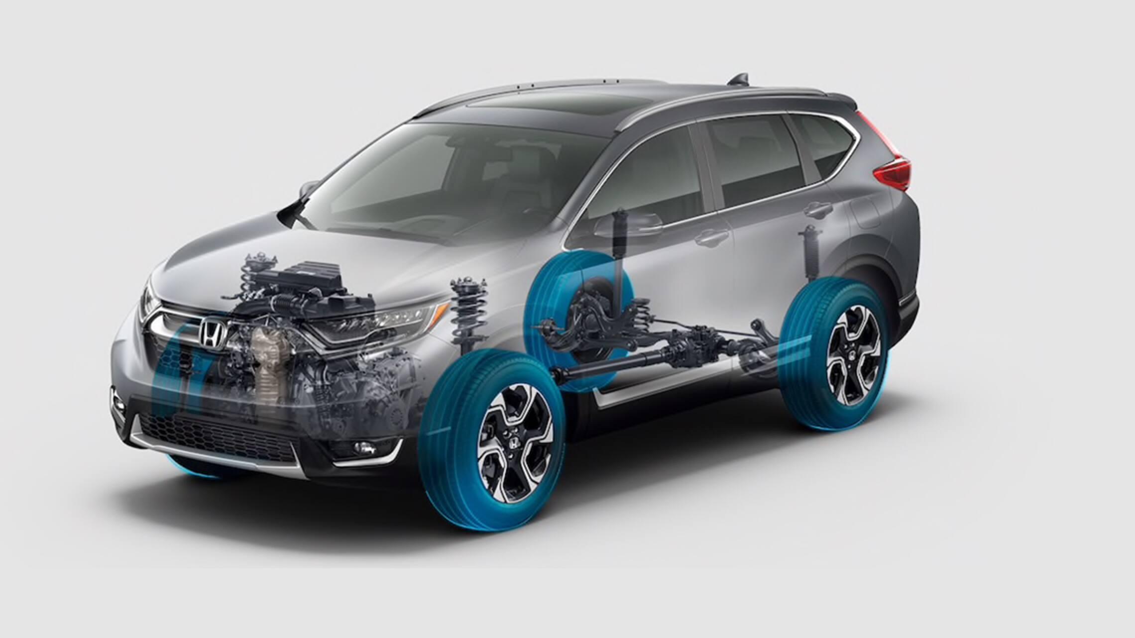 Honda CR-V2019 con tracción integral Real Time™.
