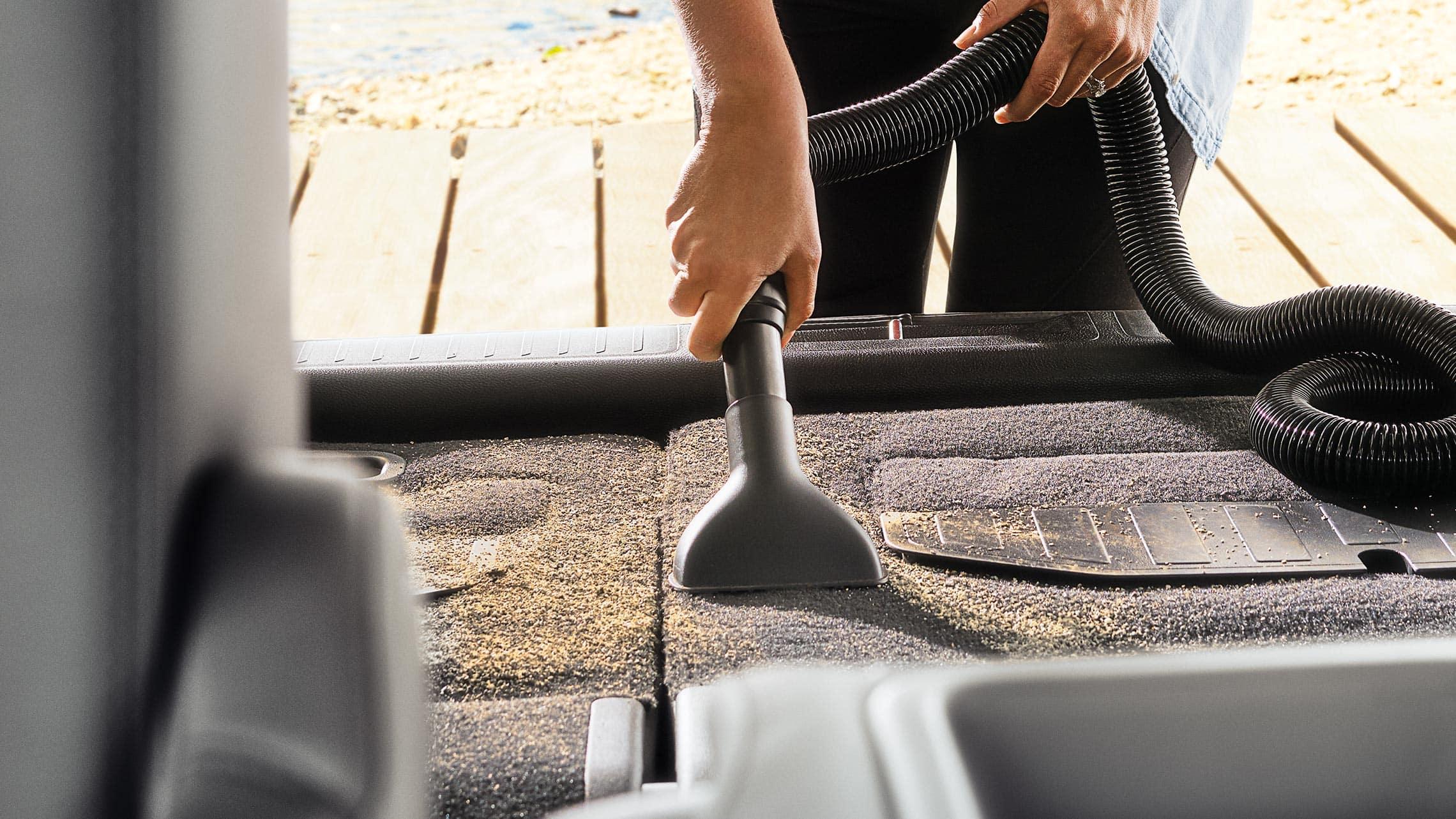 Detalle de HondaVAC® en la Honda Odyssey Elite2020 con Gray Leather.